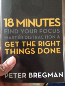 Peter Bregman's 18 Minutes was my special find for getting my year off to a great start!
