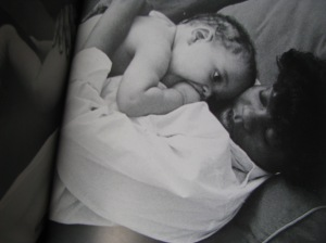 Breastfeeding By Sheila Kitzinger was the first breastfeeding book I ever read. It's worth ordering on-line. I was blessed to find it in a local bookstore 12 years ago. I couldn't read it without inexplicable tears though. Almost every picture of a nursing baby and mother caused the tears to well!